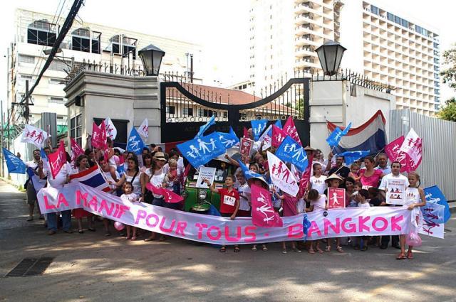 Bangkok et la manif pour tous