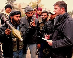 Pierre Piccinin da Prata en Syrie