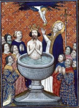 bapteme de Clovis XIVe