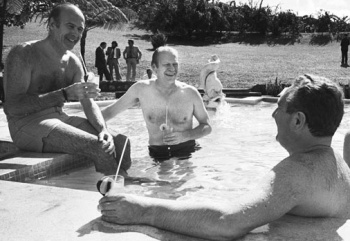 Gerald Ford et Giscard d'Estaing à la Martinique