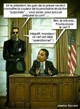 Obama et les révolutions colorées